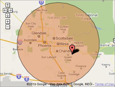 Map Of Arizona Cities Queen Creek.Virus Removal In Queen Creek By Queen Creek Virus Removal Service